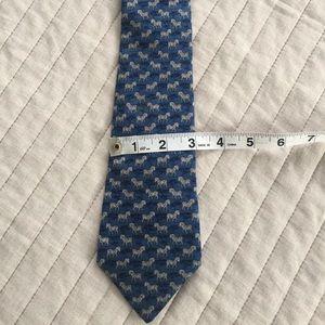 Hermès zebra tie